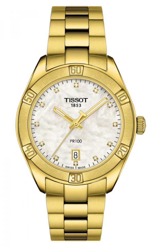 TISSOT PR100 Sport Jaune T1019103311601