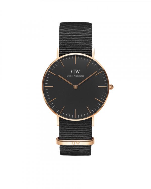 DANIEL WELLINGTON Classic Black Cornwa naisten kello