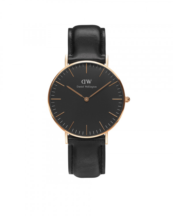 DANIEL WELLINGTON Classic Black Sheffield naisten kello