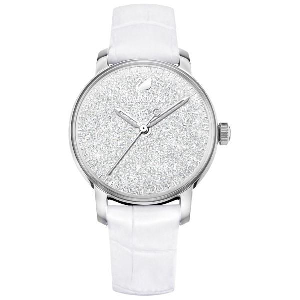SWAROVSKI Crystalline Hours, valkoinen/hopea, Naisten kello 5295383
