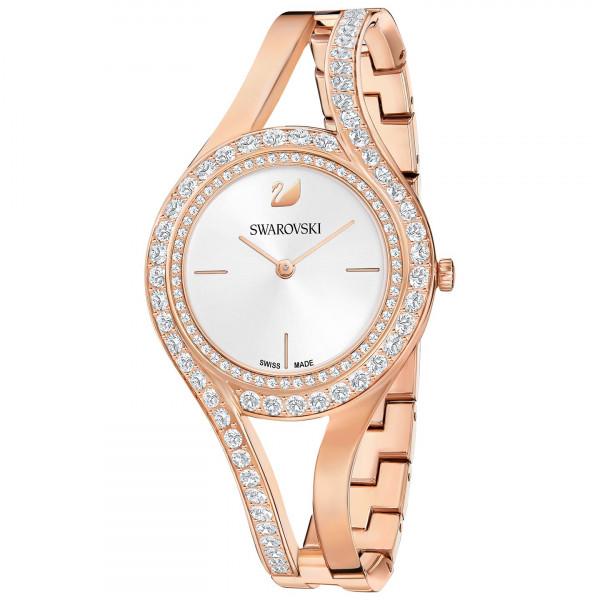 SWAROVSKI Eternal Watch, Metal bracelet, White, Rose gold tone 5377576