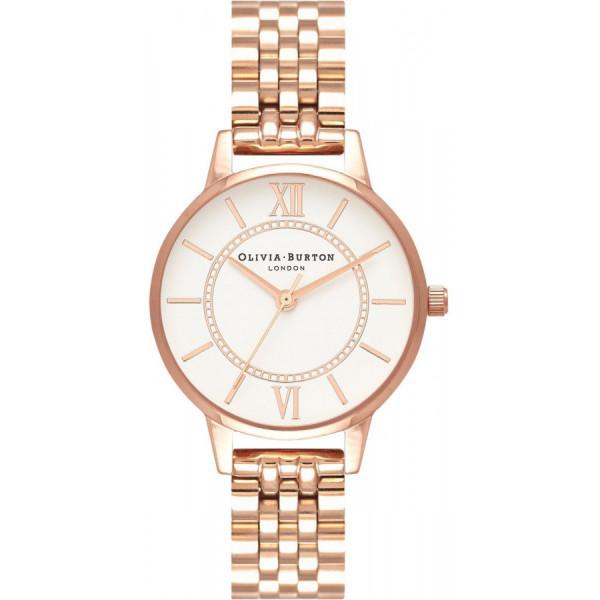OLIVIA BURTON Wonderland Bracelet Rose Gold OB16WD70