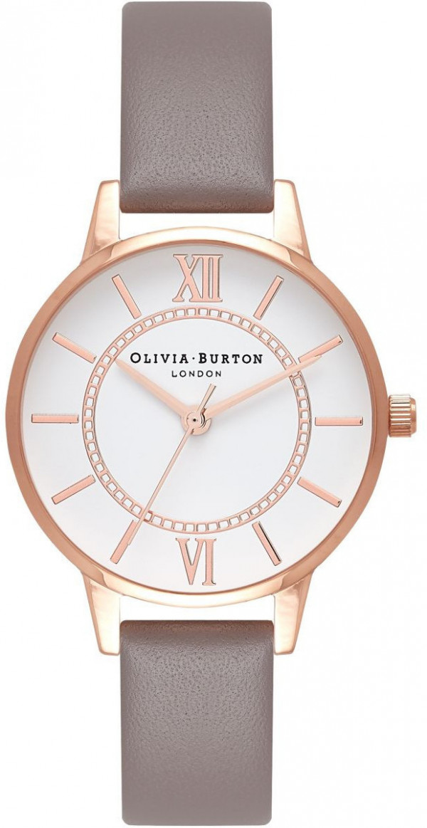 OLIVIA BURTON Wonderland London Grey & Rose Gold OB16WD63