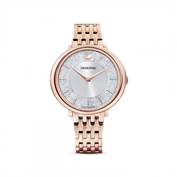 SWAROVSKI Crystalline Chic Watch, Metal bracelet, Rose gold tone 5544590
