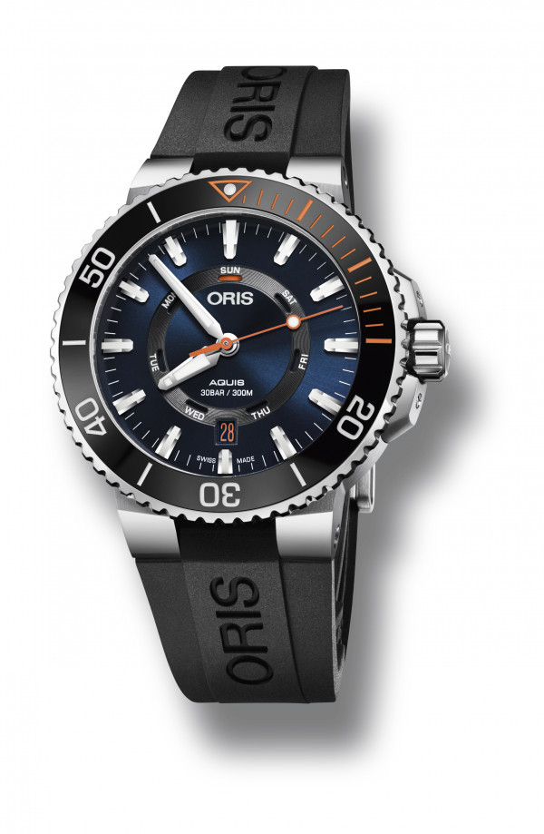ORIS AQUIS STAGHORN Limited Edition 01 735 7734 4185 Set RS