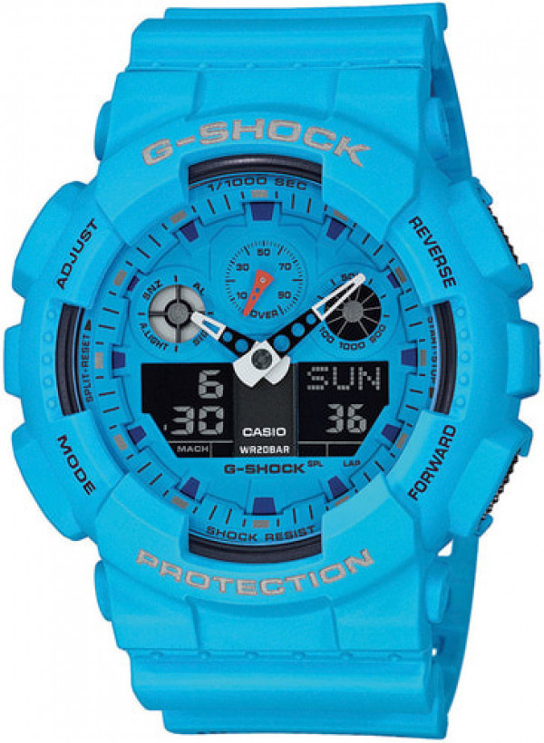 Casio G-SHOCK Hot Rock Sounds GA-100RS-2AER