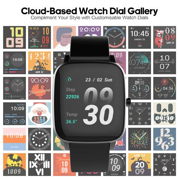 STRAND Smart watch älykello S716USBBV