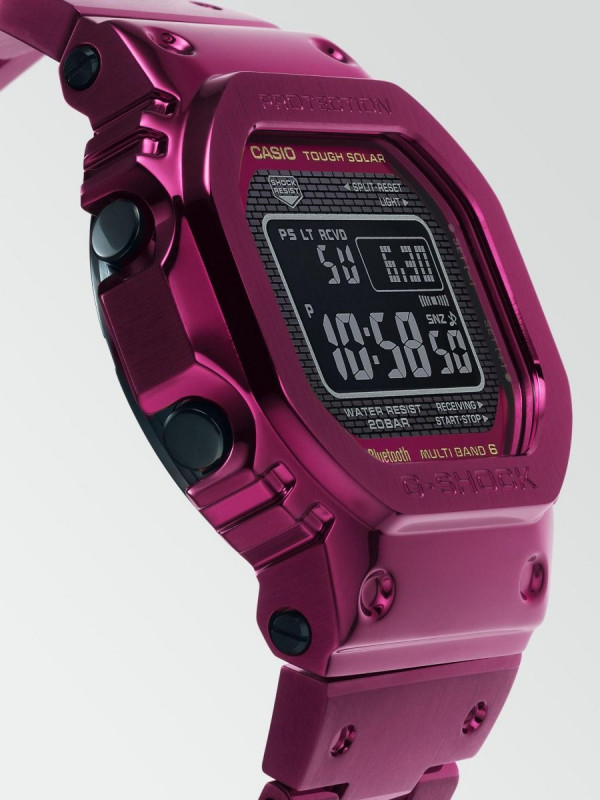 CASIO G-Shock Full Metal with Red Ion Plating GMW-B5000RD-4ER