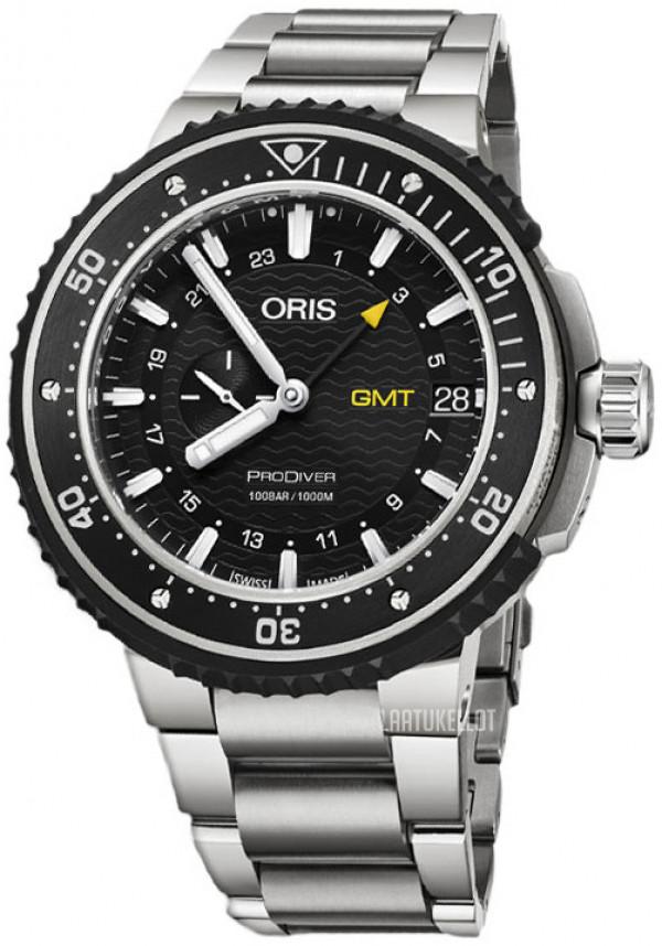 ORIS Pro Diver GMT Titanium 01 748 7748 7154-07 8 26