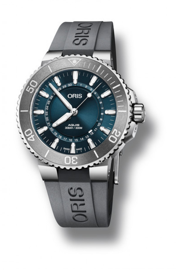 ORIS Aquis Limited Edition 01 733 7730 4125-Set RS Source of Life