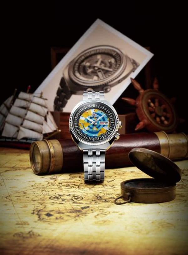 ORIENT World Map RA-AA0E04Y