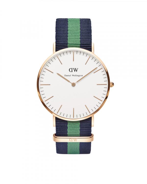 DANIEL WELLINGTON Warwich Rose miesten kello