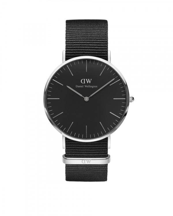 DANIEL WELLINGTON Classic Black Cornwa miesten kello