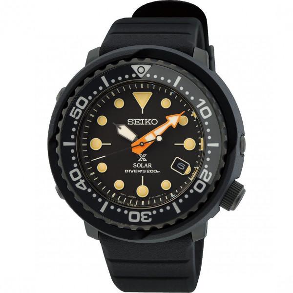 SEIKO Prospex Solar Black Series Limited Edition Tuna SNE577P1