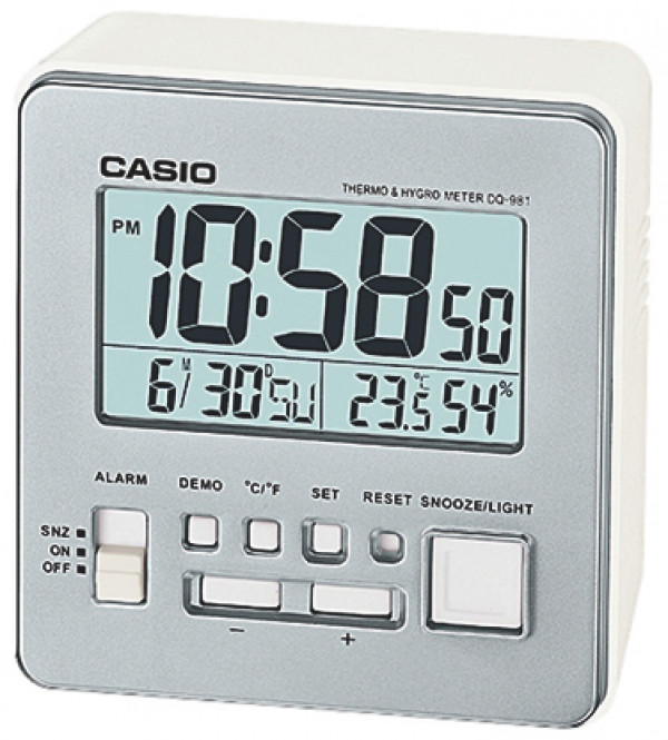 CASIO herätyskello DQ-981-8ER