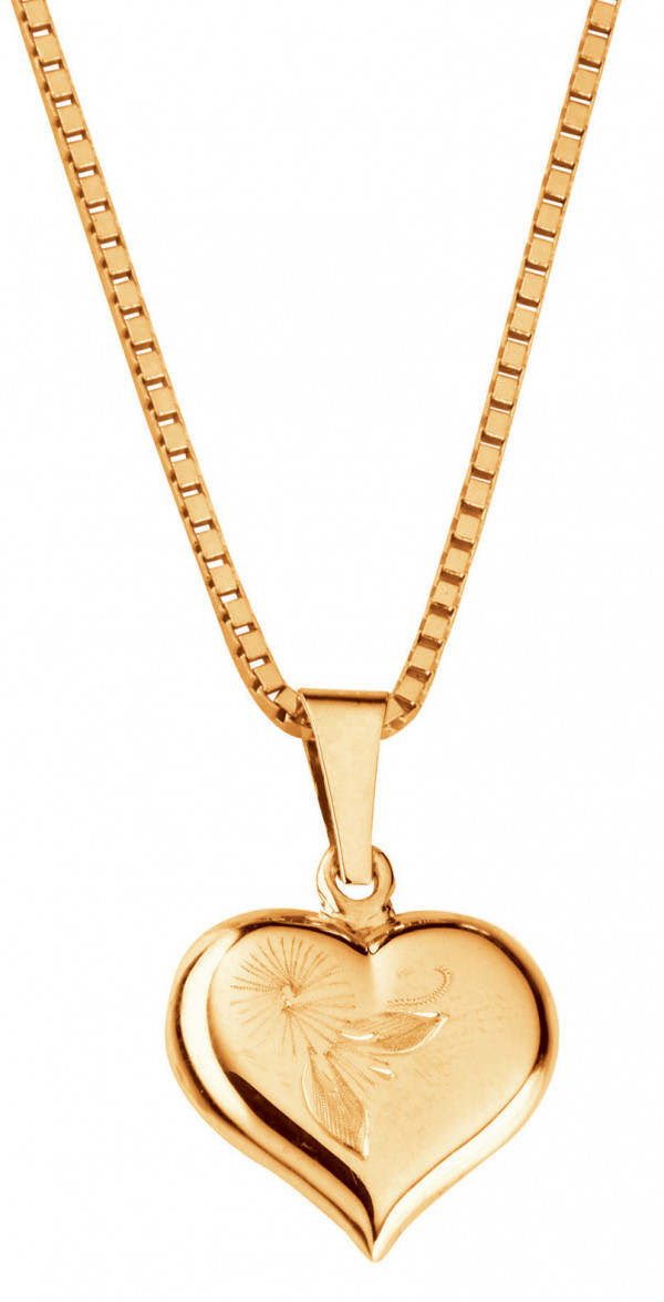 Kultariipus sydän
