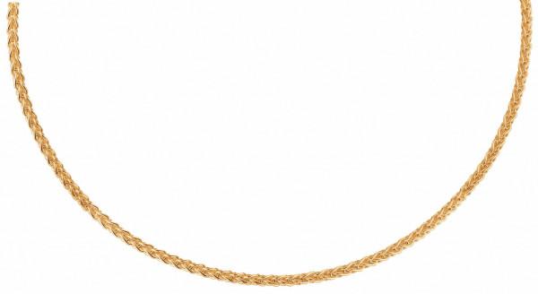 Kultakaulaketju tähkä 42cm