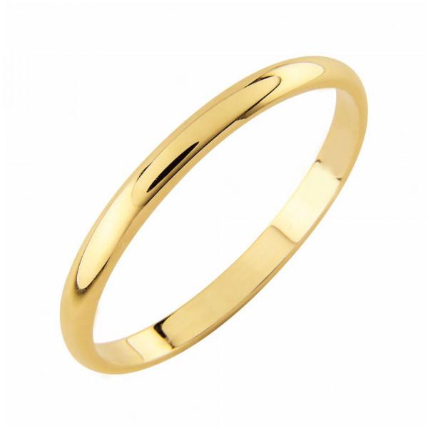Kihlasormus kultaa 2mm