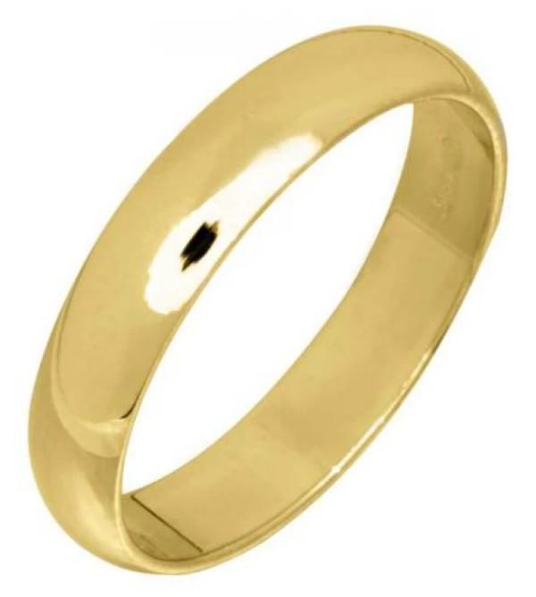 Kihlasormus kultaa 4mm