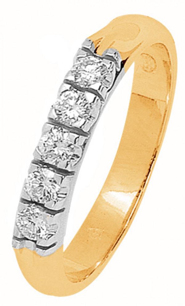 DIAMOND Timanttisormus 2-väri