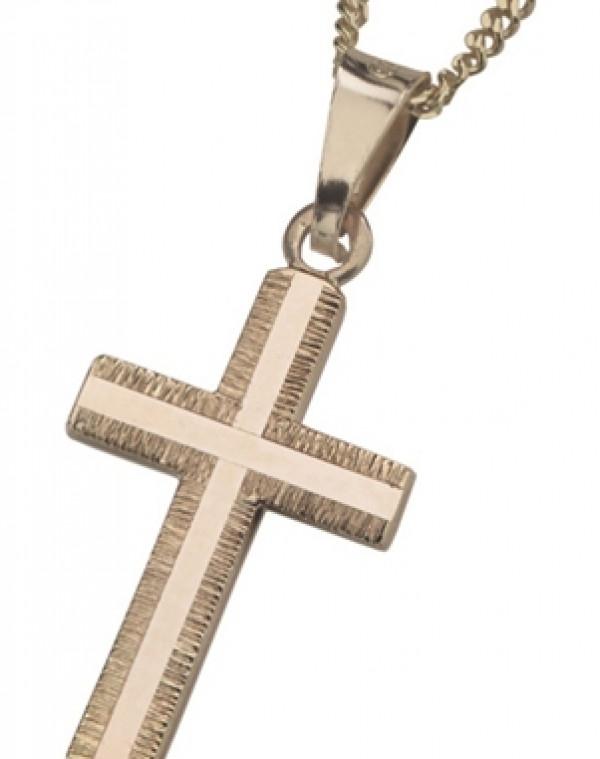 Hopearisti kultapina 42/45cm