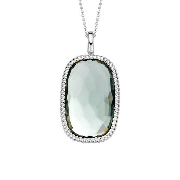 TI SENTO Kaulakoru Vihreä kristalli