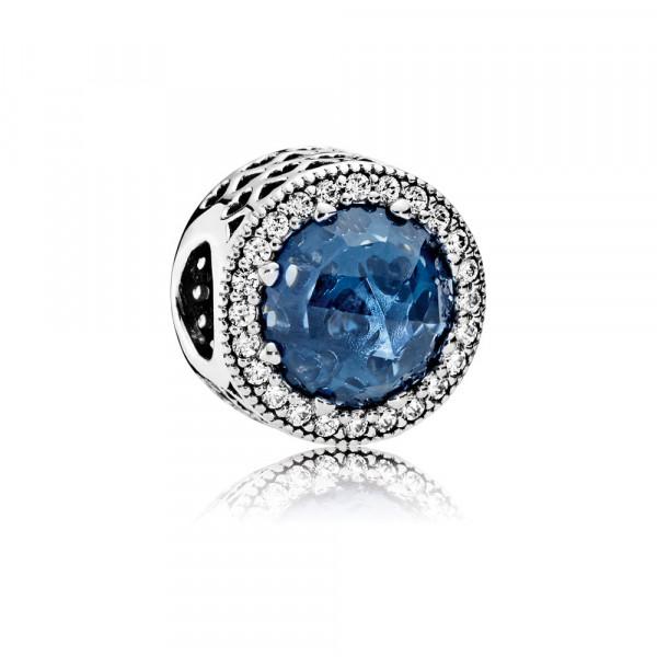 PANDORA Moonlight Blue Radiant Hearts