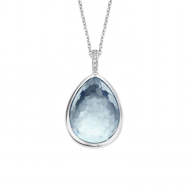 TI SENTO Kaulakoru Sininen kristalli