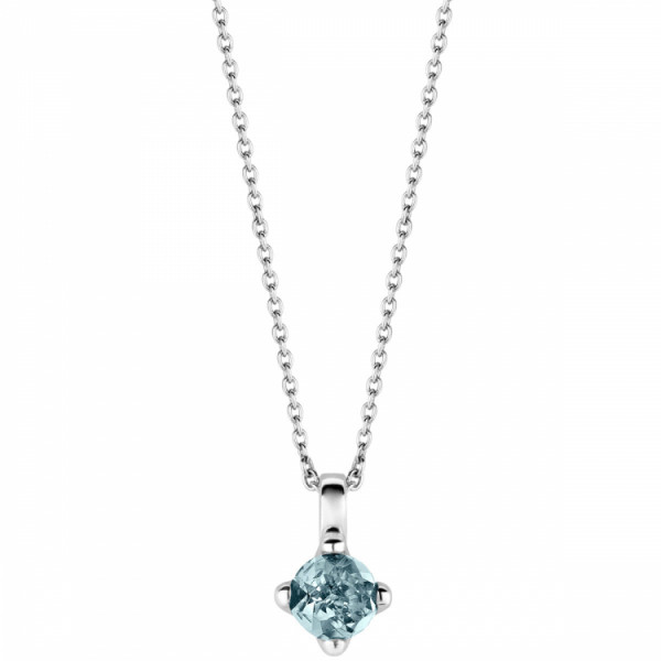 TI SENTO Kaulakoru Veden sininen kristalli, Ketju 42cm
