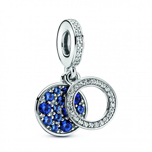 PANDORA Sparkling Blue Disc sin. 799186C01