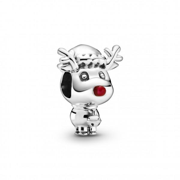 PANDORA Rudolf The Reindeer Enamel 799208C01