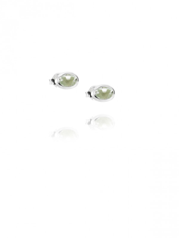 EFVA ATTLING Love Bead Green Quartz Korvakorut