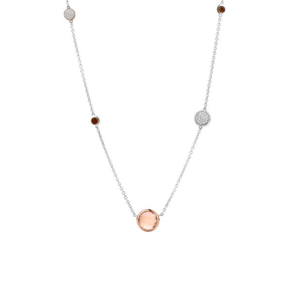 TI SENTO Kaulakoru Rose crystal
