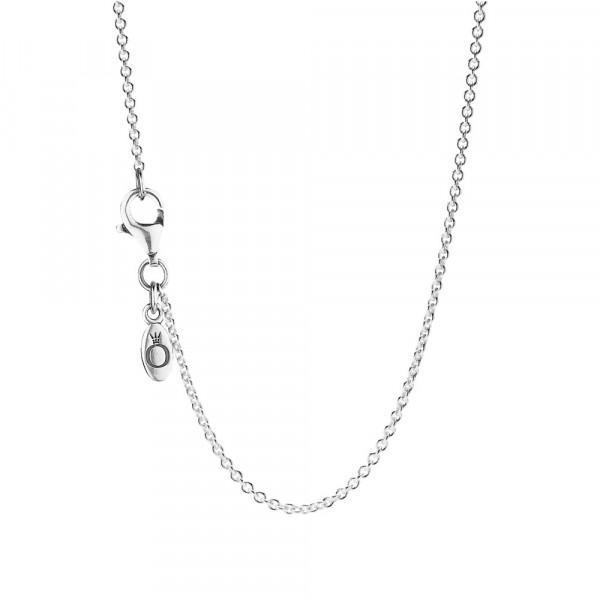 PANDORA Silver Collier Necklace - 90CM