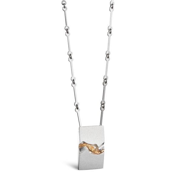 KALEVALA Art Kultarailo hopeakaulakoru 235154045