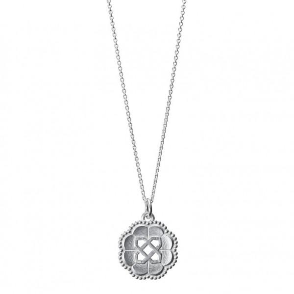 KALEVALA Amuletti Osmansolmu hopea kaulakoru 227031060