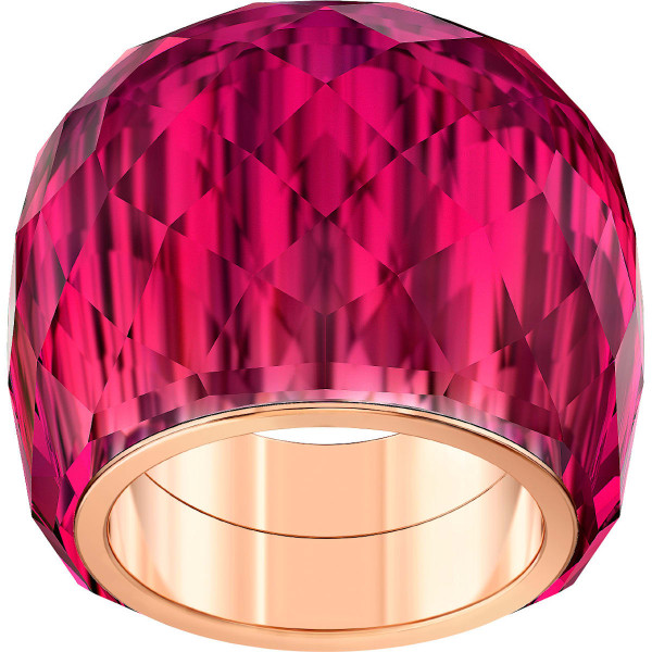 Swarovski Nirvana ring, Red, Rose-gold tone PVD 5508719