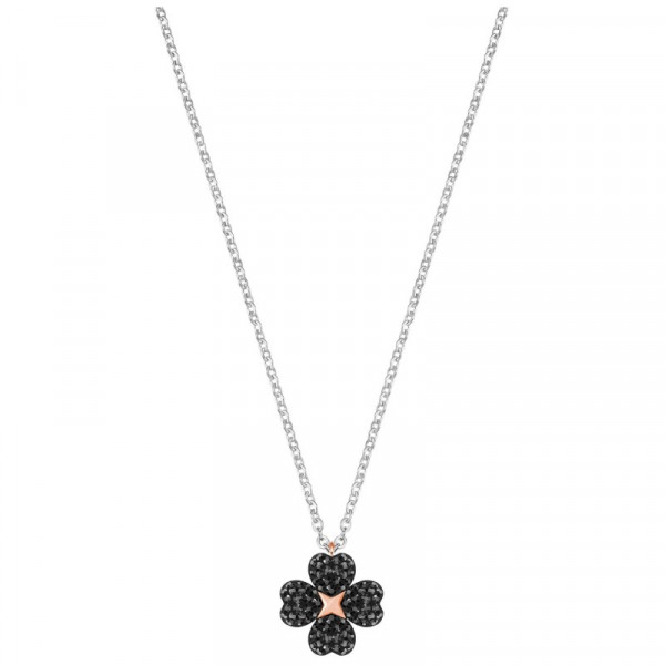 SWAROVSKI LATISHA FLOWER Kaulakoru, Rose gold/Black/Silver