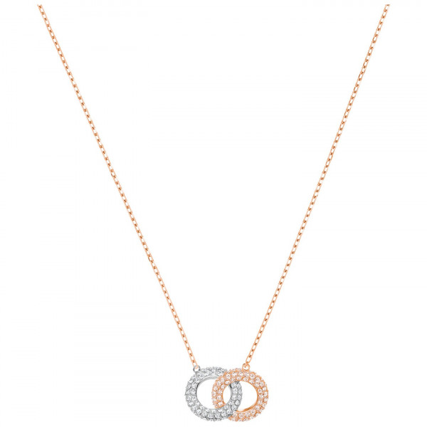 SWAROVSKI Stone Necklace, Multi-colored, Rose gold plating 5414999