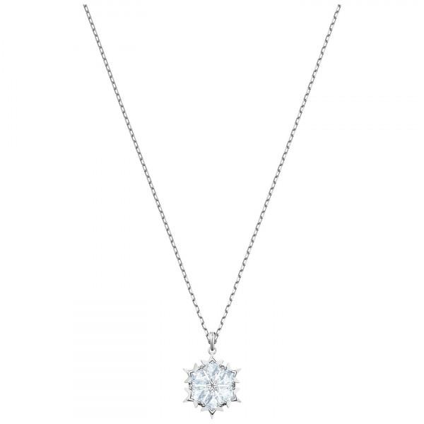 SWAROVSKI Magic Pendant, White, Rhodium plating 5428432
