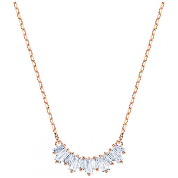 SWAROVSKI Sunshine Necklace, White, Rose gold plating 5459590