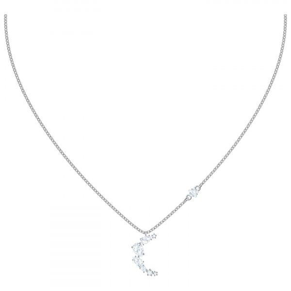 SWAROVSKI Moonsun Necklace, White, Rhodium plated 5508442