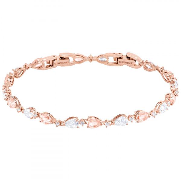 SWAROVSKI Vintage Bracelet, Pink, Rose gold plating 5466883