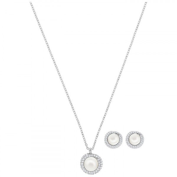 SWAROVSKI Originally Set, White, Rhodium plating 5479911