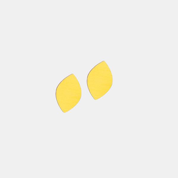 LAAV Mussukka tappikorvakorut keltainen
