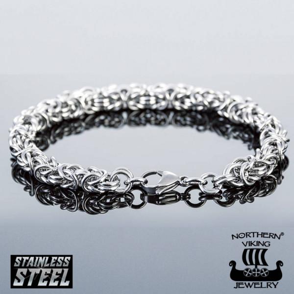 Northern Viking Jewelry Kingchain NVJRA003 rannekoru