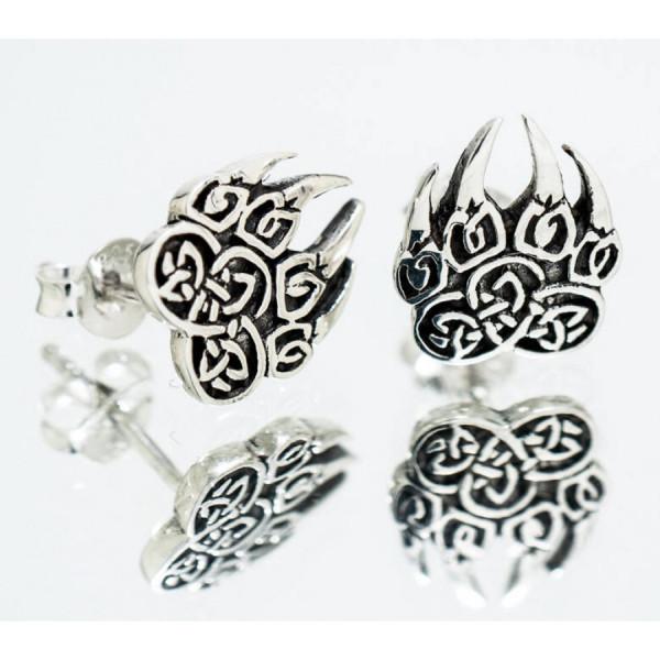 Northern Viking Jewelry NVJKK024 Karhun Käpälä korvakorut