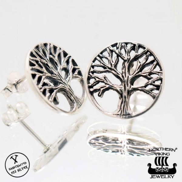 Northern Viking Jewelry NVJKK032 Elämän puu korvakorut