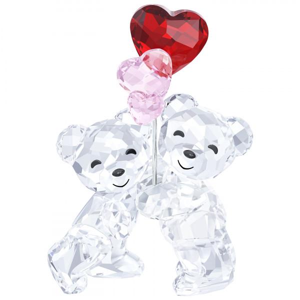 SWAROVSKI kristalliesine Kris Bear - Heart Balloons 5185778