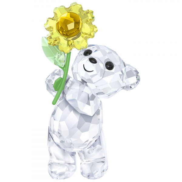 SWAROVSKI kristalliesine Kris Bear - A Sunflower for You 5268764
